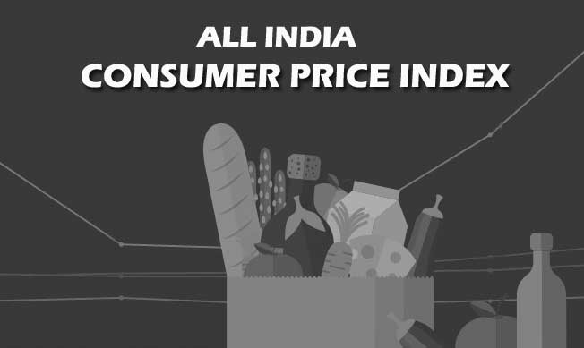 All India Consumer Price Index Number by Labour Bureau for Current Month in AICPIN Table