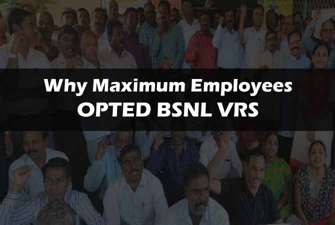 BSNL Employees VRS