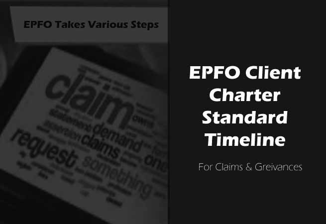 EPFO Timeline for Settlement of Claims & Grievances