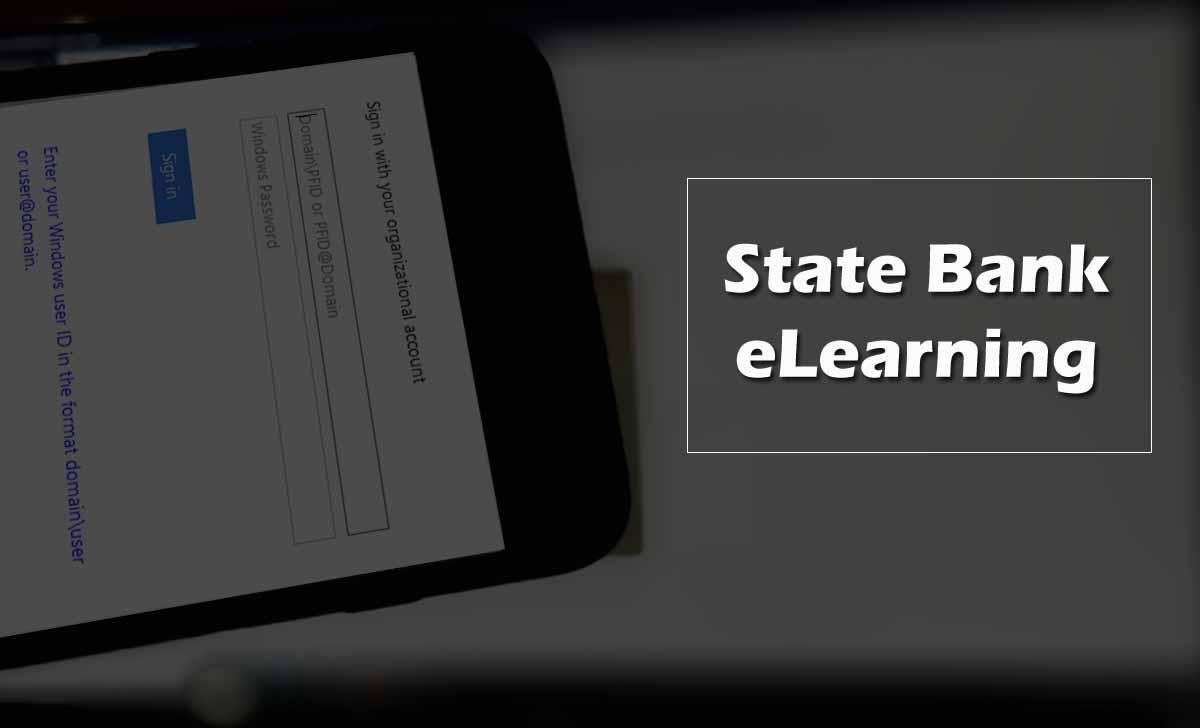 SBI e Learning Portal