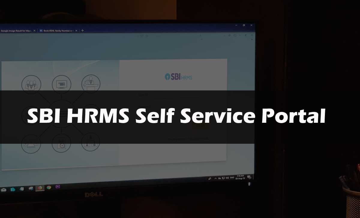 SBI HRMS ESS Portal for State Bank Employees & Pensioners