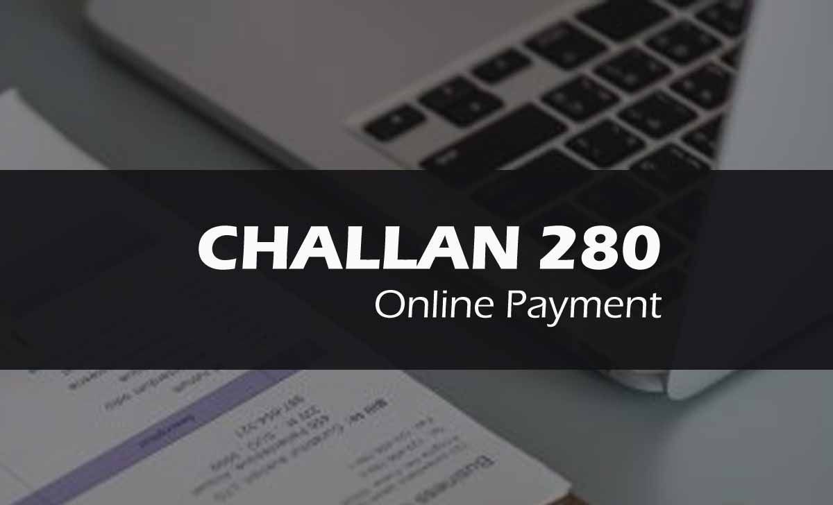 Income Tax Challan 280 Online Payment