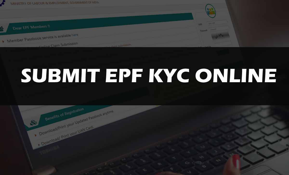 Submit EPF KYC Online to Update UAN at Member Portal