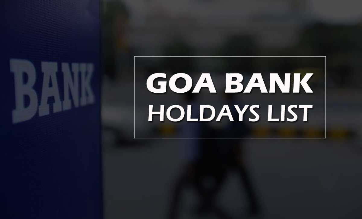 Goa Bank Holidays