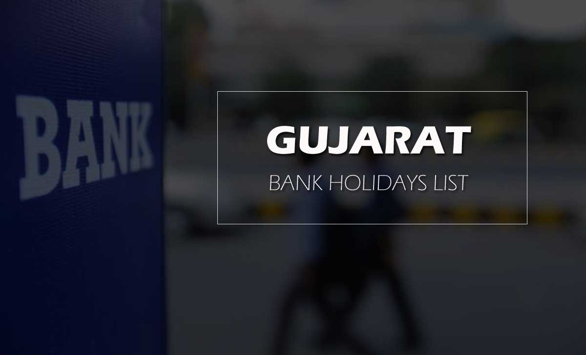 Gujarat Public Holidays for Bank in 2020 as per NI ACT