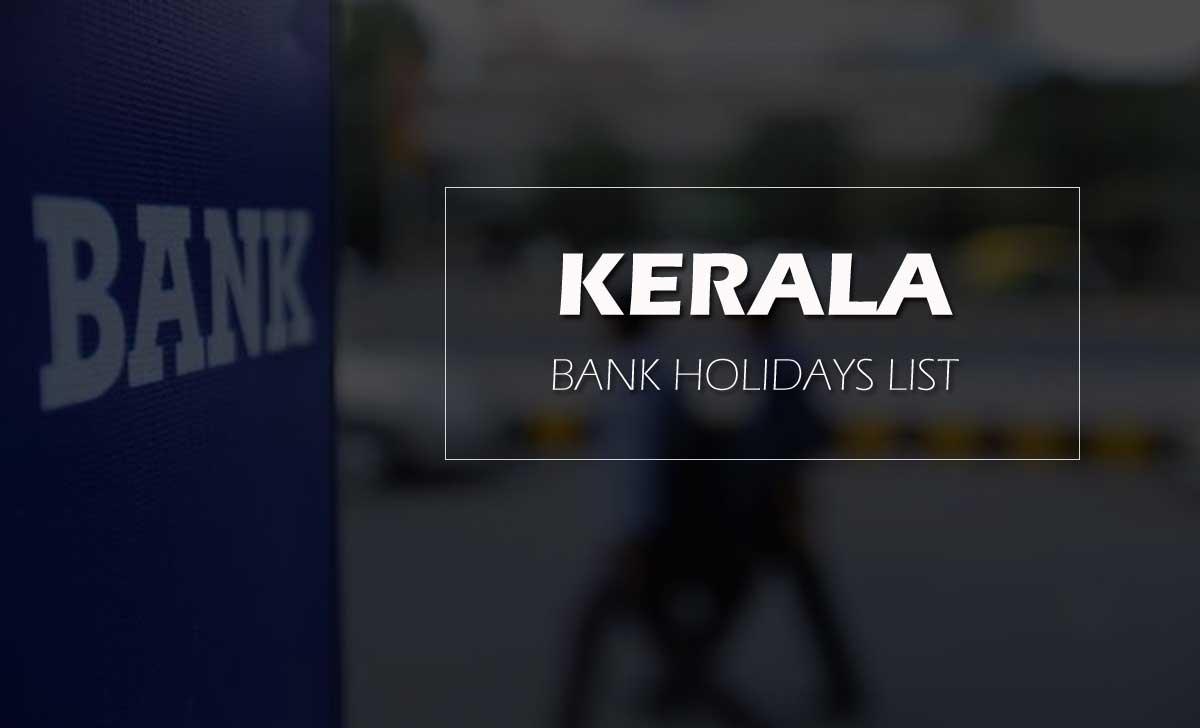 Kerala Bank Holidays List