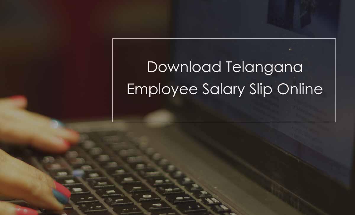 Telangana Employee Pay Slip or Salary Slip