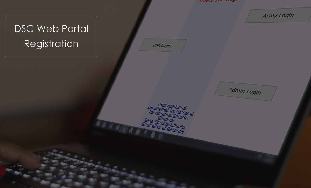 DSC (Defense Security Corps) Online Login Portal Registration