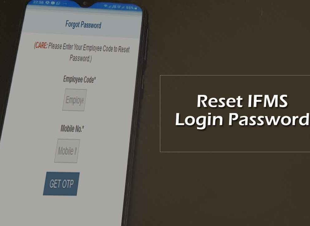 Reset Ekosh Login Password Online for IFMS Uttarakand