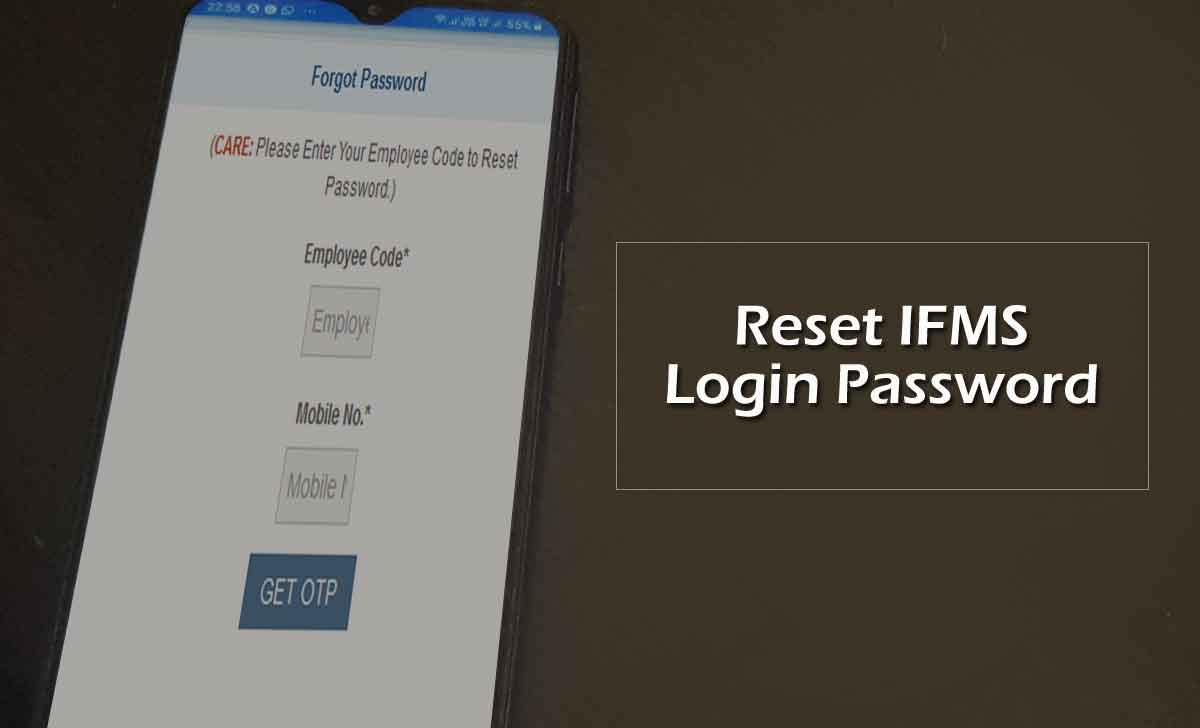 Reset Ekosh Login Password