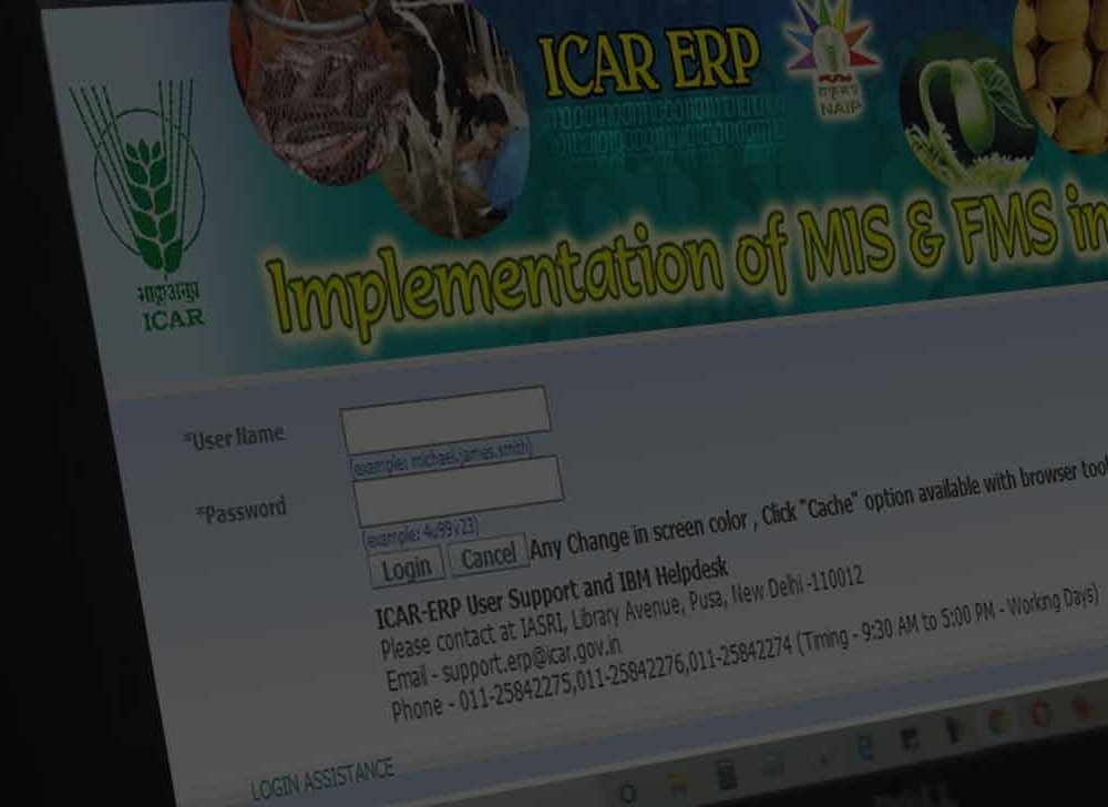 Generate ICAR Payslip at ICAR ERP Portal icarerp.iasri.res.in
