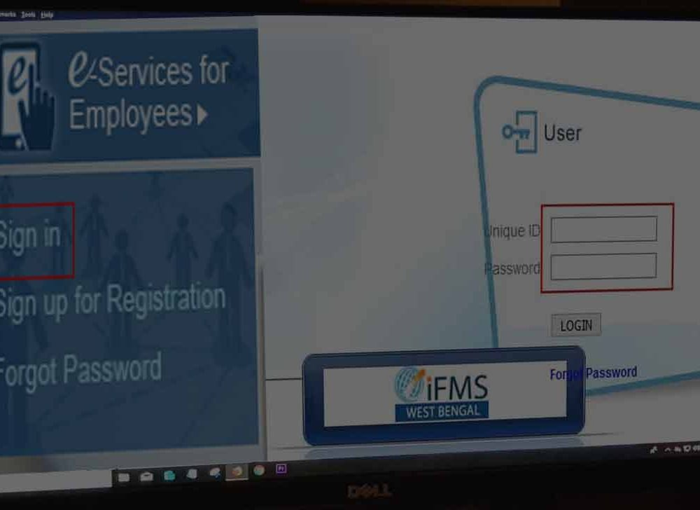 Download WBiFMS Pay Slip from HRMS Login wbifms.gov.in/cas/login