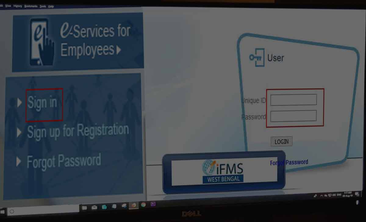 WBiFMS Pay Slip Download