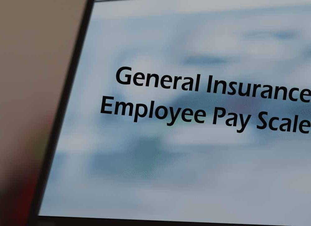 General Insurance Employee Pay Scales for Officer, DO & Clerical