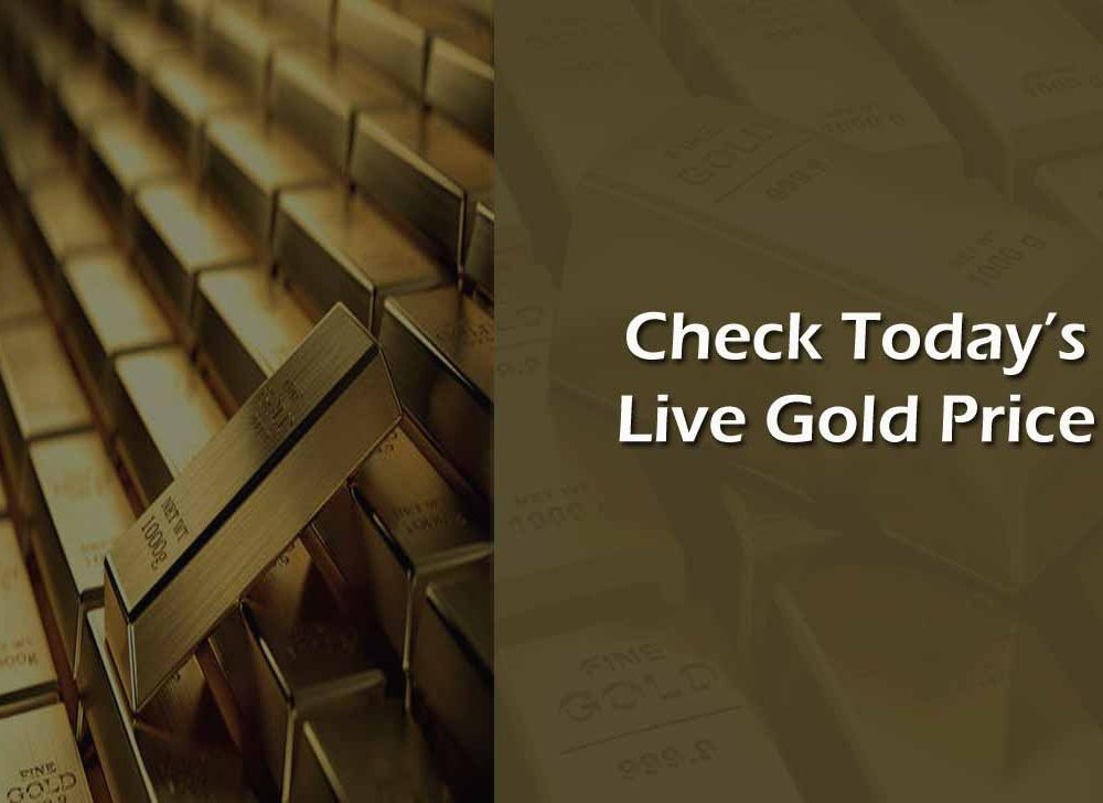 Today Gold Rate Live Update for 24/22 Carat Gram Price