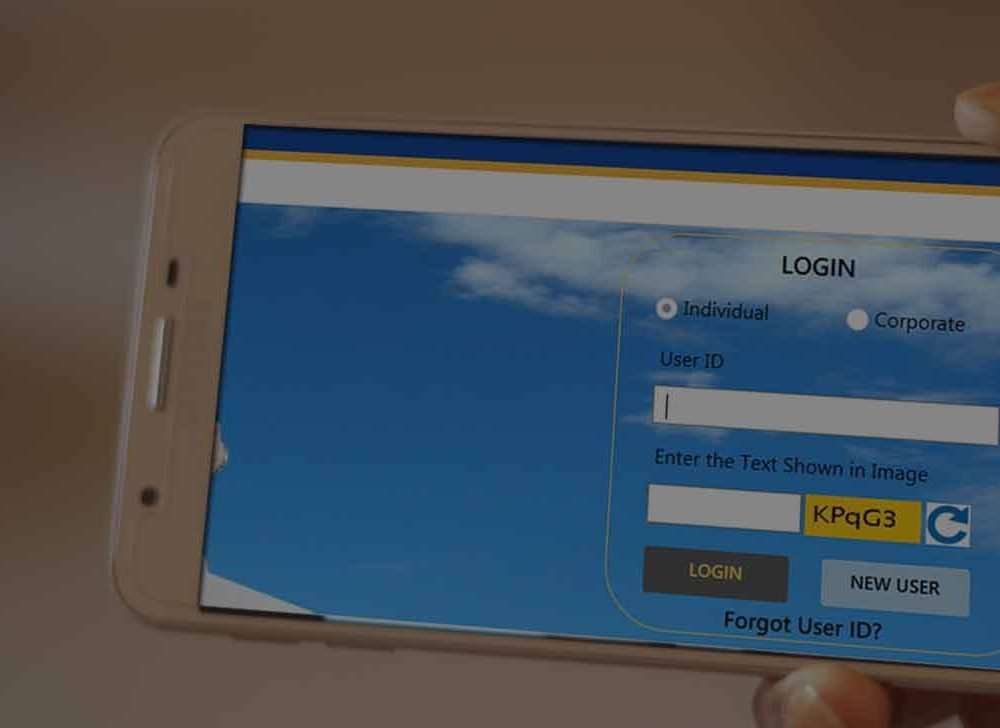 Indian Bank Net Banking Registration for New User Login
