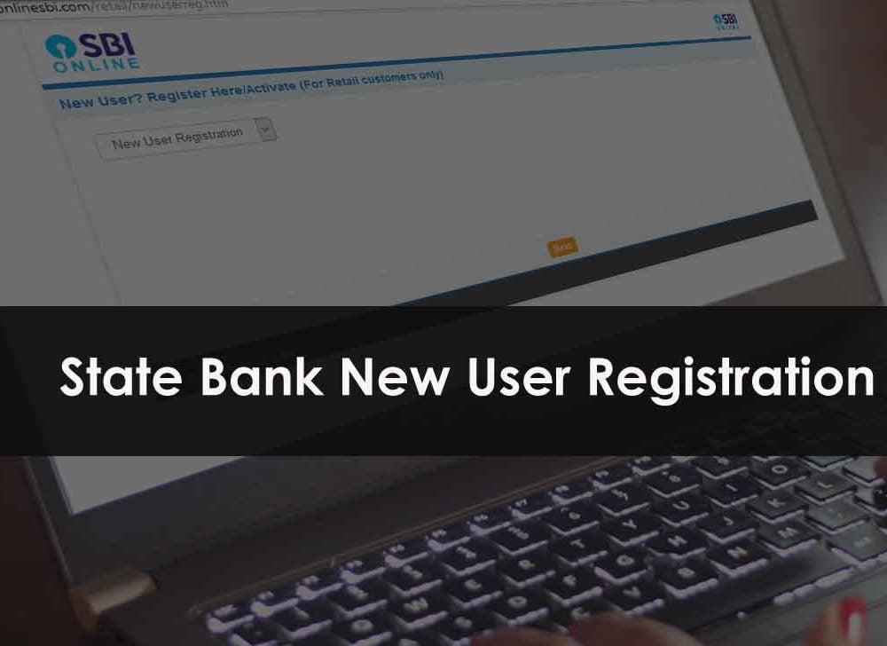 SBI Net Banking Login New User Registration at retail.onlinesbi.com