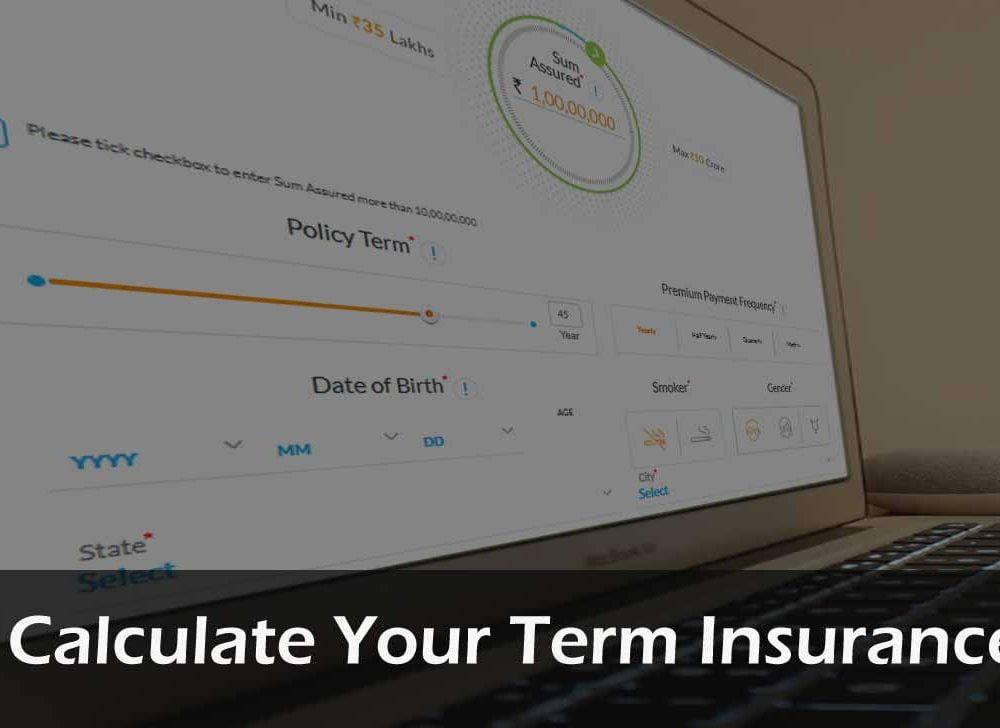 Term Insurance Calculator to Check Premium & Benefits