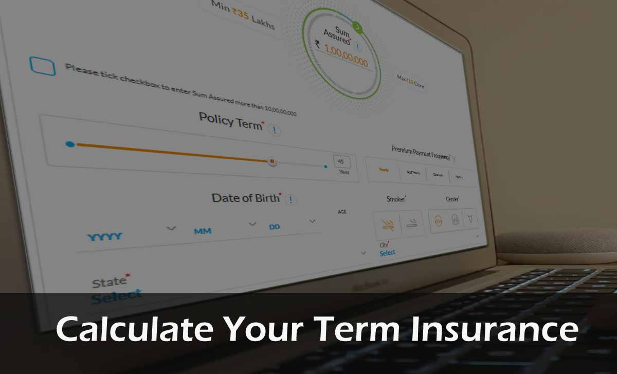 Term Insurance Calculator Online