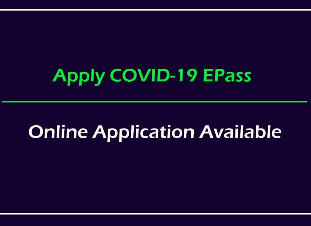 AP Covid-19 Emergency Pass Online for Movement