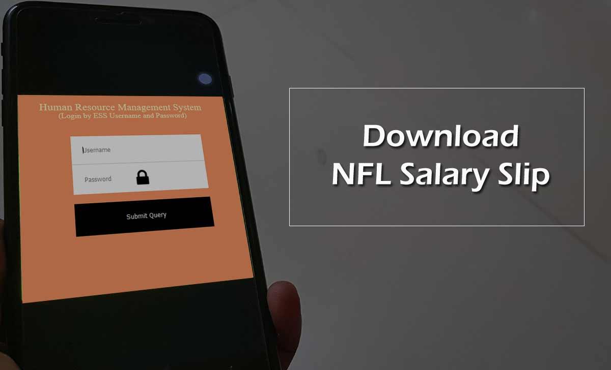 NFL Payslip Download Online