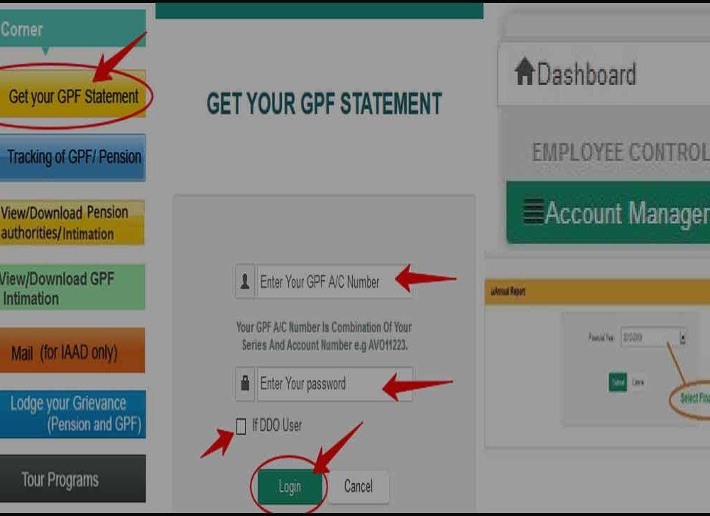 Get Odisha GPF Slip Online on AG Web Portal Login