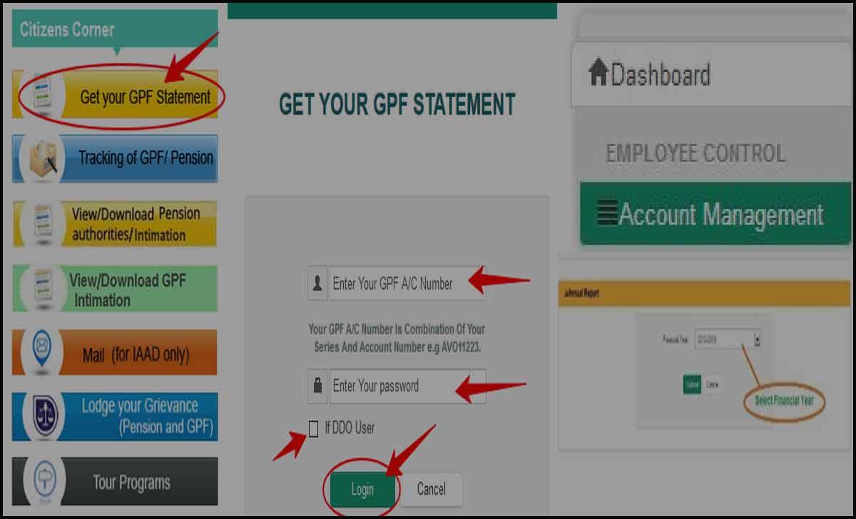 Odisha GPF Slip Download Online