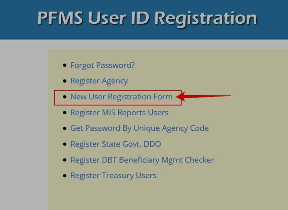 PFMS Login Registration to Access Employee Salary Slip Portal
