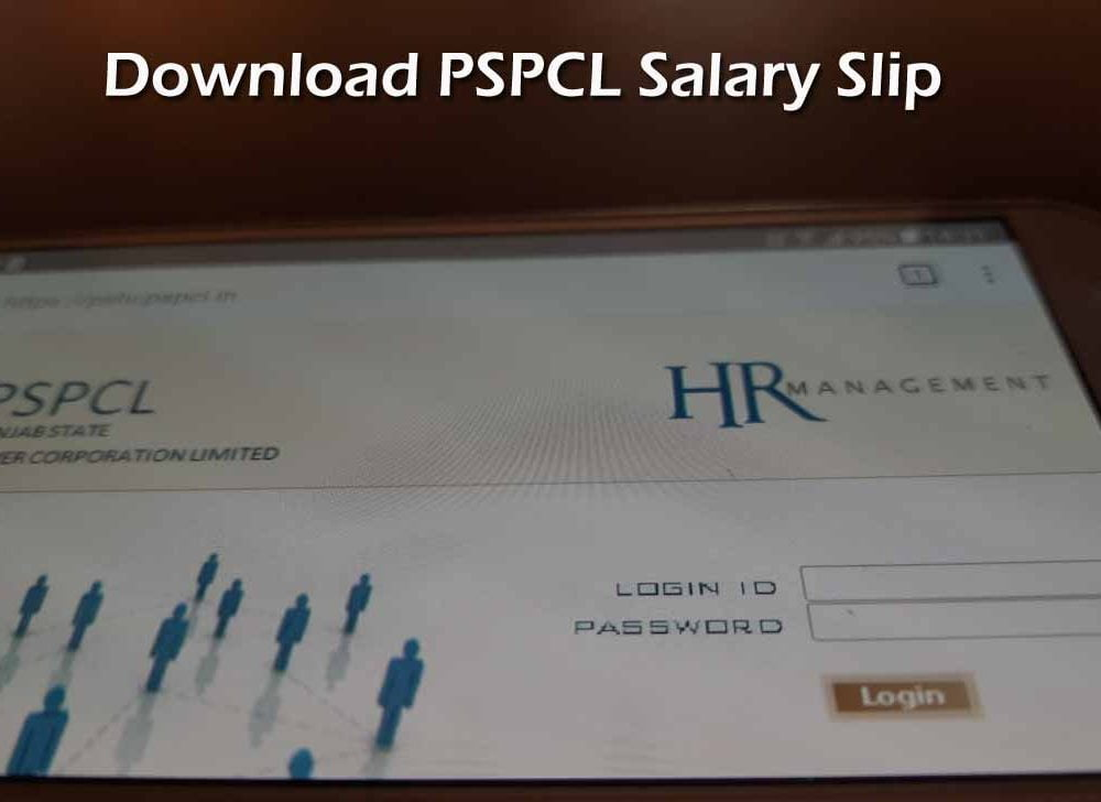 Download PSPCL Pay Slip Online to Check Monthly Salary Details
