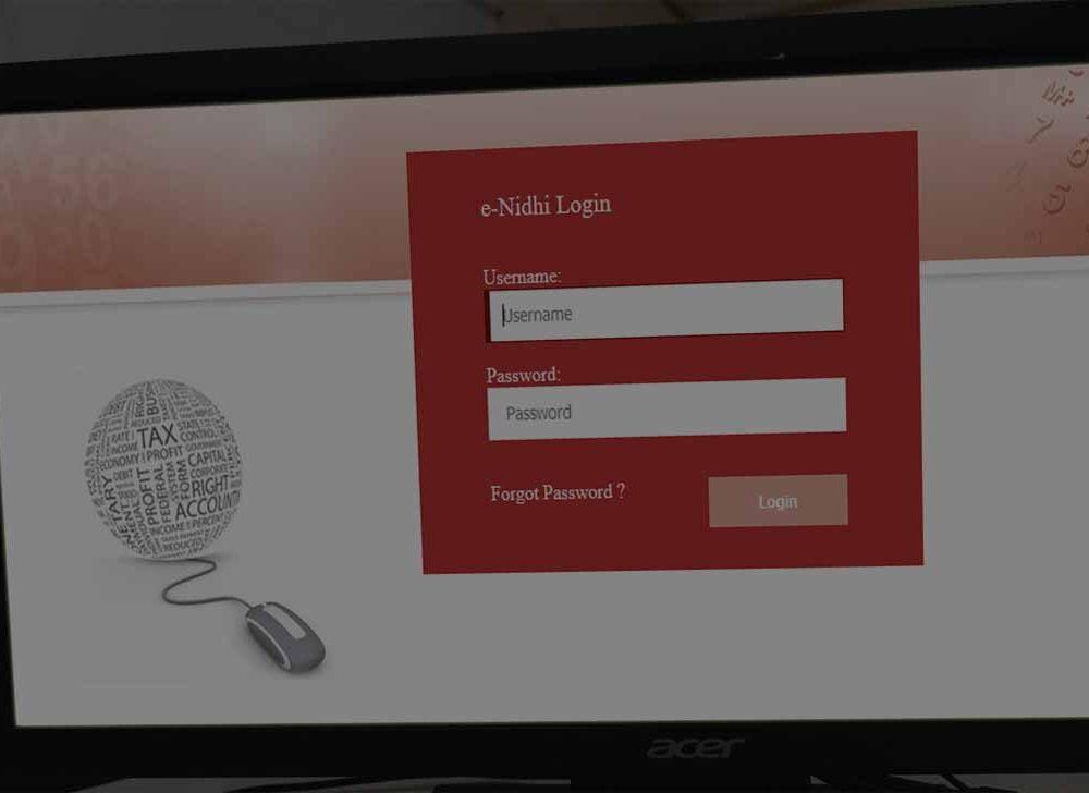 Generate Bihar Employee Payslip Online at CFMS(eNidhi Login)