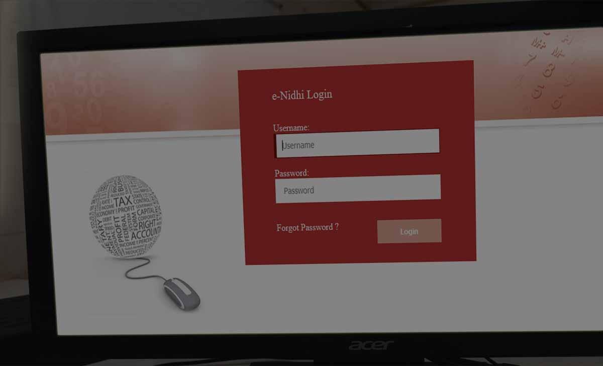 Bihar Employee Payslip Download at CFMS Portal eNidhi Login