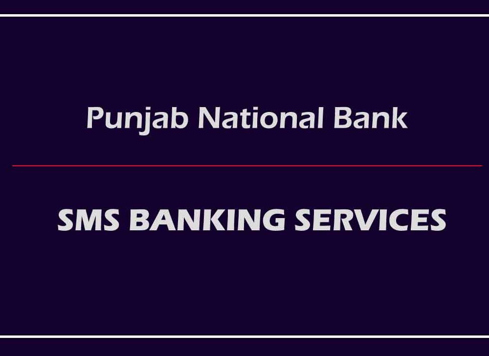 PNB SMS Banking with New SMS Codes for Many Services