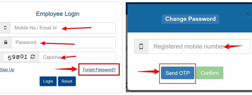 Reset FinAssam Forgot Password to Retreive Assam Employee Login