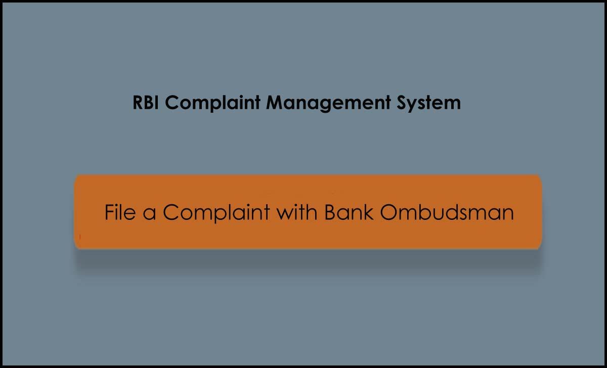 Bank Ombudsman Complaint