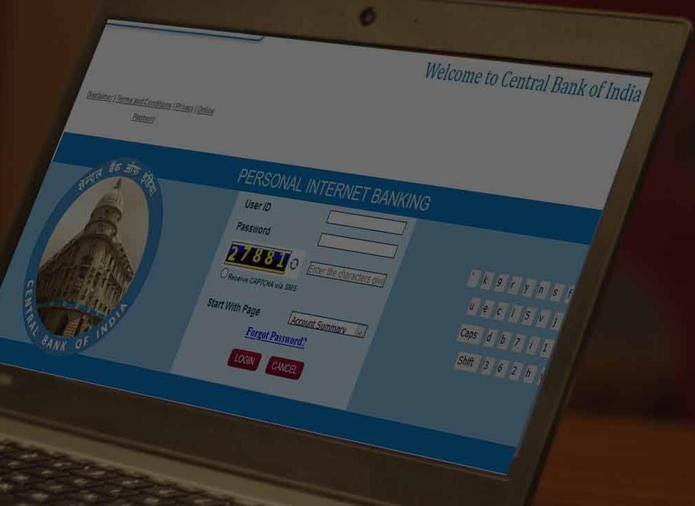 CBI Net Banking Login – Central Bank of India Internet Banking