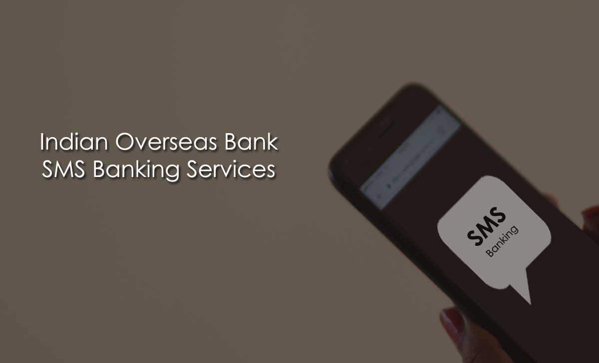 IOB SMS Banking