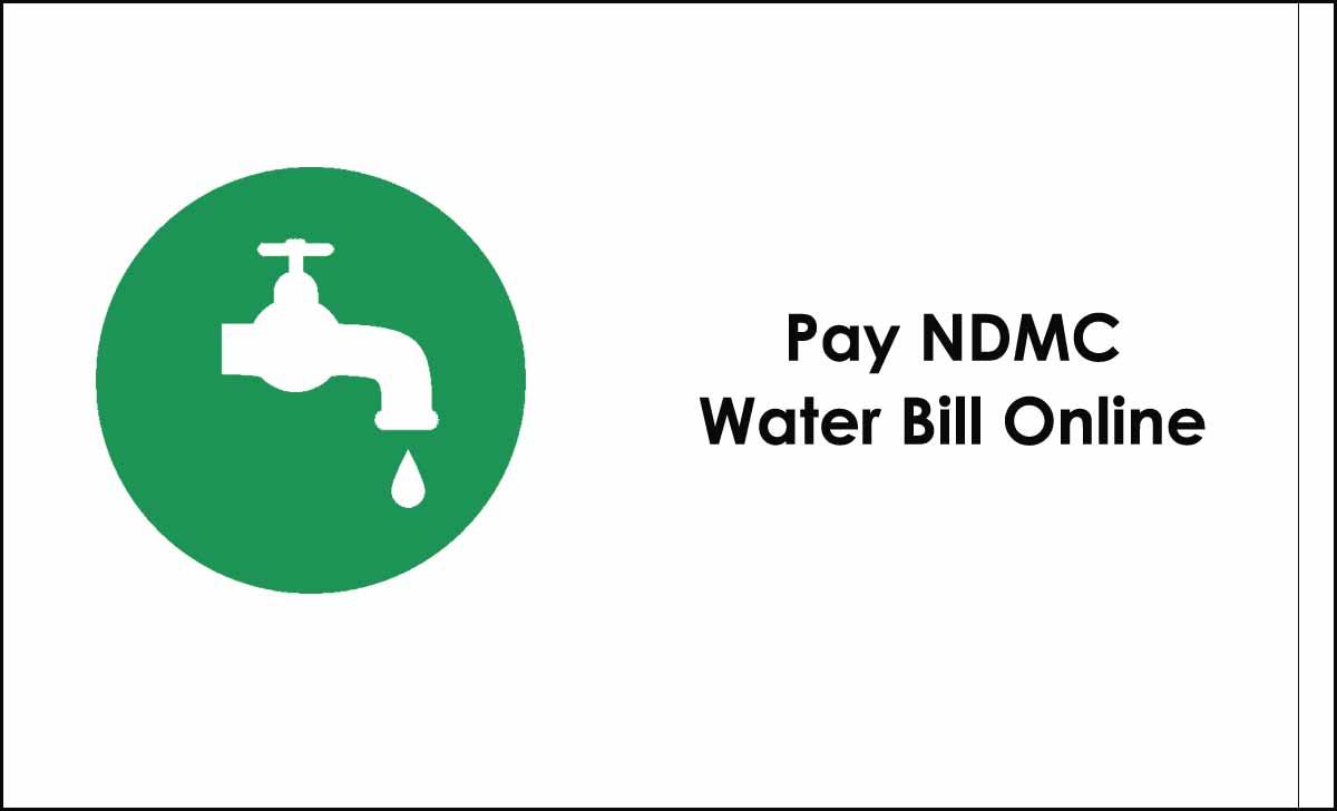 NDMC Water Bill Payment