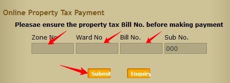 Pay Chennai Online Property Tax