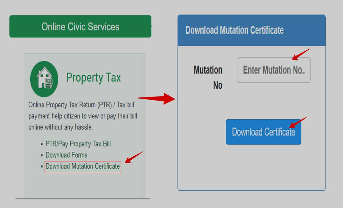 Delhi Mutation Certificate Download Online