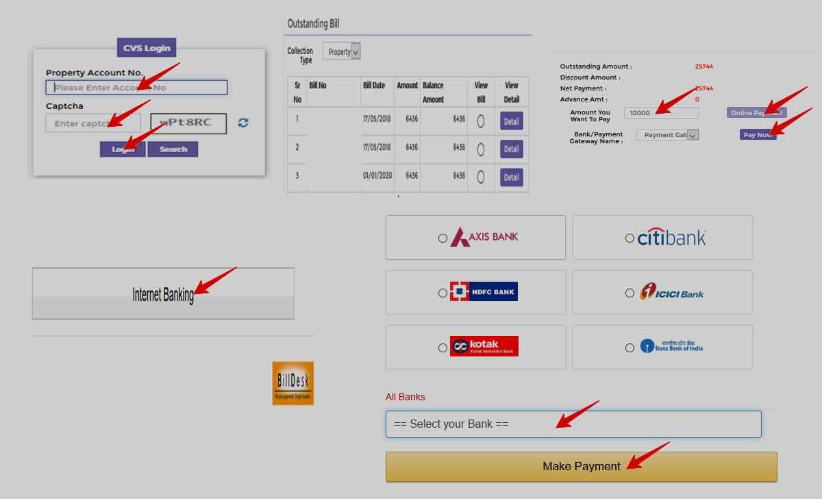 Mumbai Property tax Payment Online