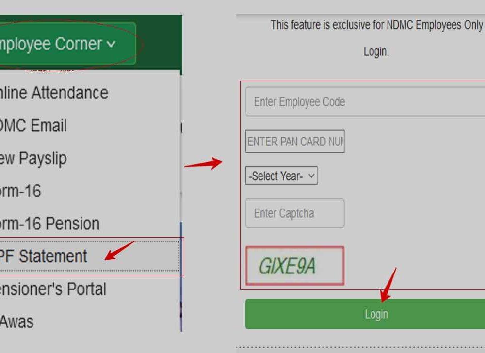 Check NDMC Employee GPF Statement Online or Offline