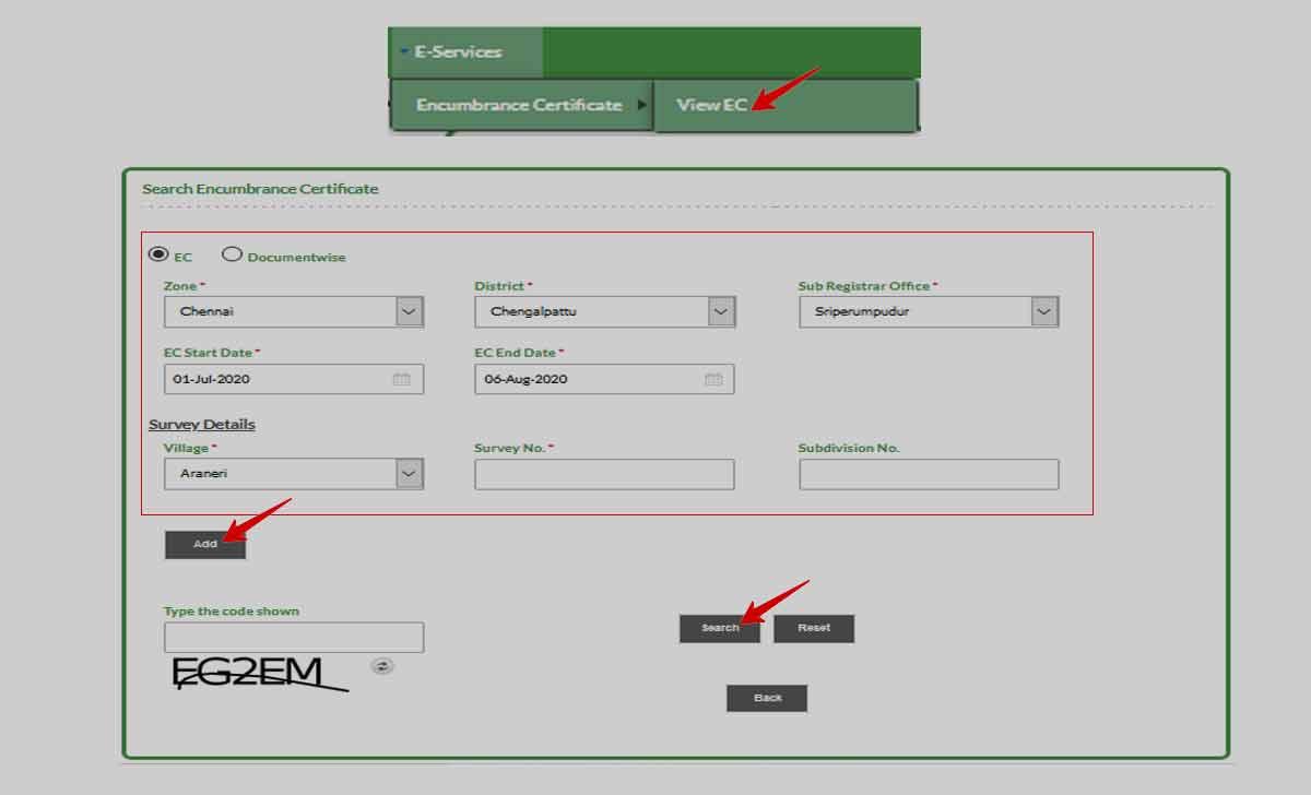 TNREGINET EC View Online