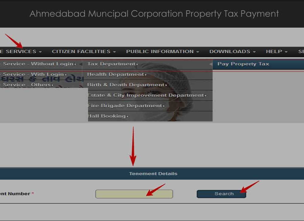 Ahmedabad Property Tax Bill Payment Online or Offline