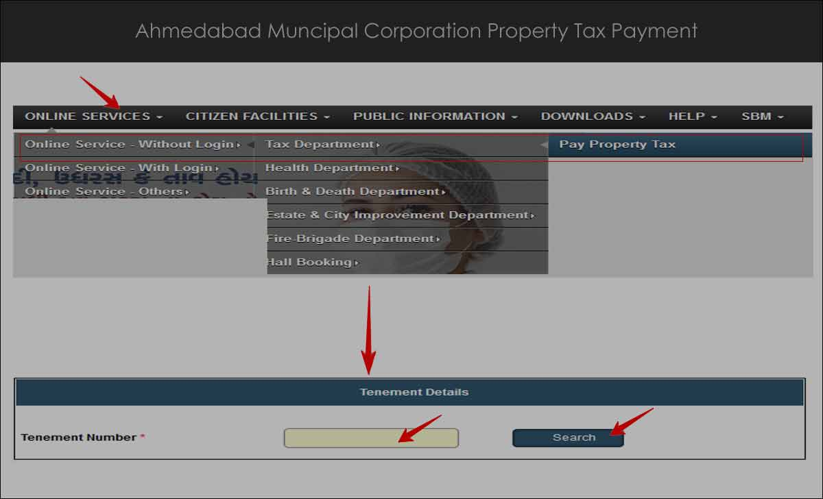 Ahmedabad Property Tax Payment