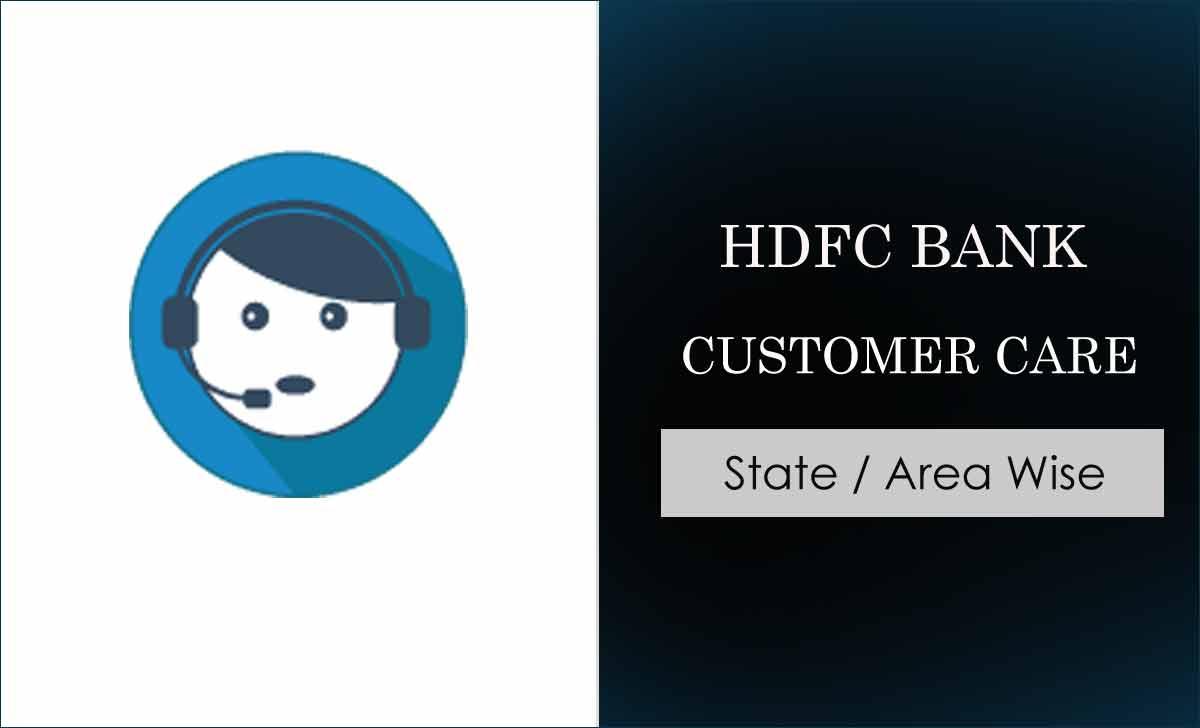 hdfc bank customer care no haryana