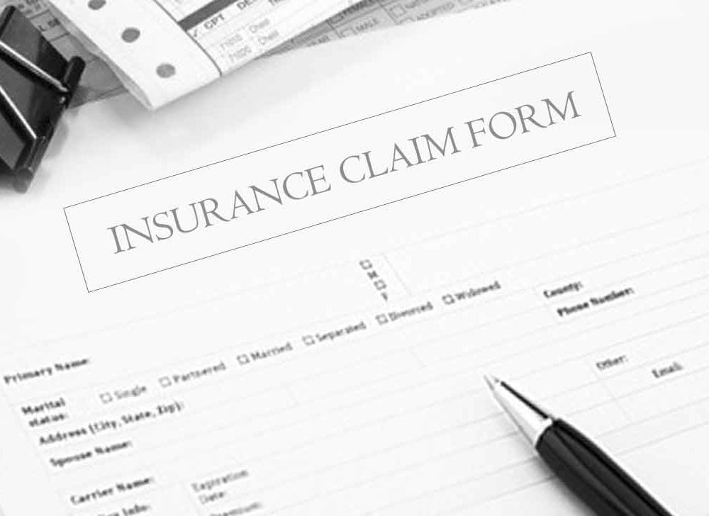 Insurance Claim Form for Health, Auto, and Home Insurance