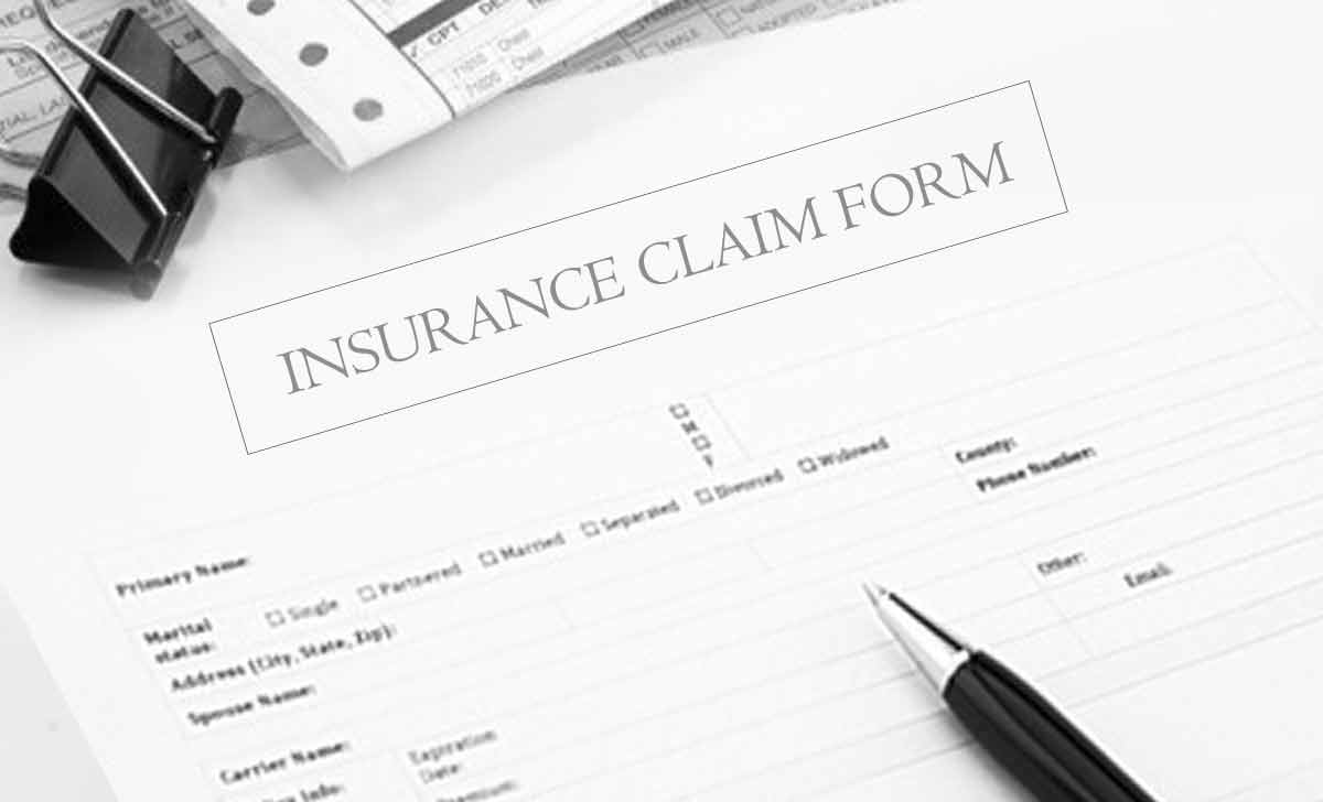 Insurance Claim Form for Health and Auto and Life Insurance
