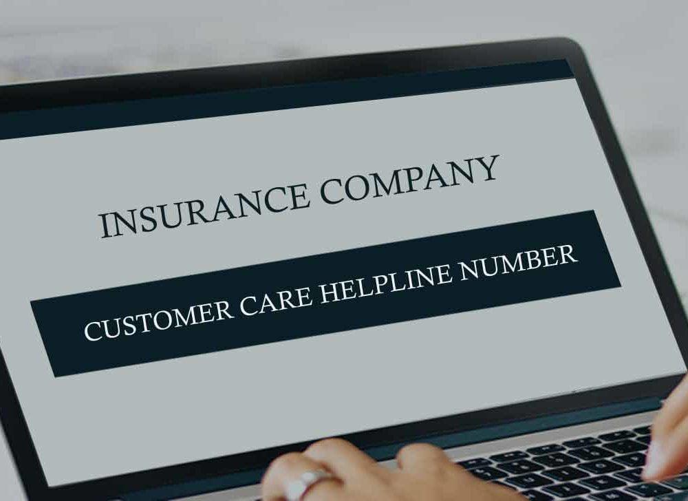 Health Insurance Company Customer Care Helpline Number