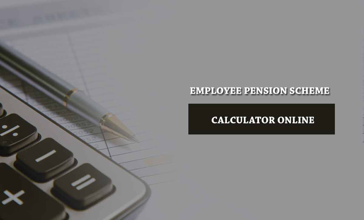 EPF Pension Calculator