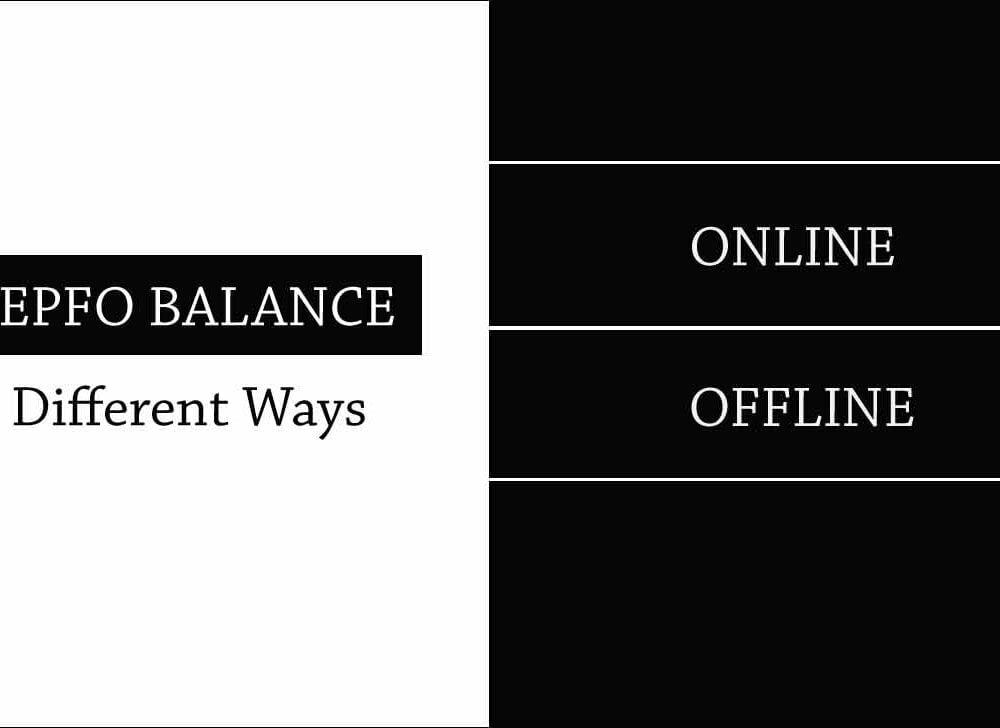 Check EPF Balance in Online or Offline using 4 Ways